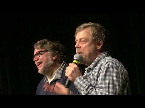 Mark Hamill Does the Emperor's Voice (Star Wars) for Audience w Guillermo del Toro