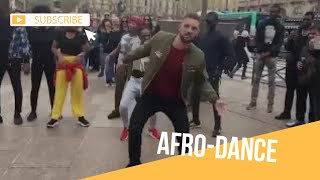 Watch this white guy murder Nigerian dance moves