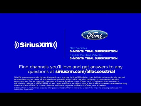 Ford - SiriusXM Dealer Portal