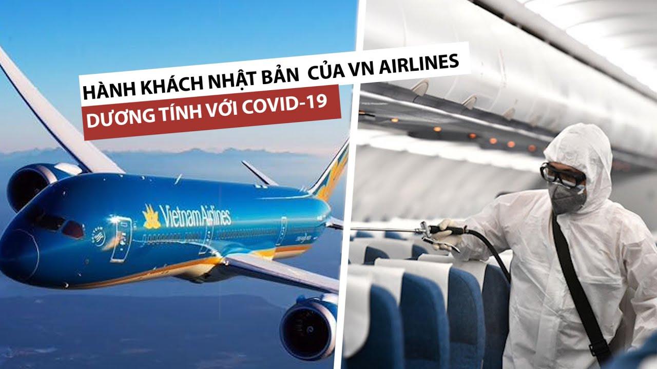 Hành khách Nhật Bản trên máy bay Vietnam Airlines dương tính với Covid-19