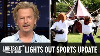 Sports News Not Covered Anywhere Else (feat. Bob Menery) - Lights Out with David Spade