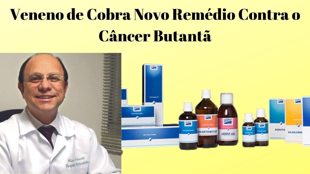 Veneno de Cobra Novo Remédio Contra o Câncer Butantã