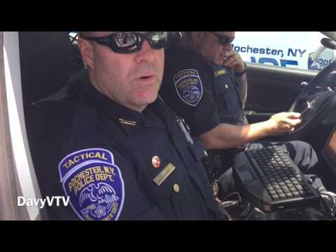 Watching the Watchers: Random I.D. Check of Rochester, NY Police Tactical Unit officers 🚔📹