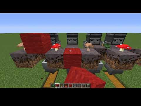 100% automatic Mushroom farm minecraft 1.16.3 2020