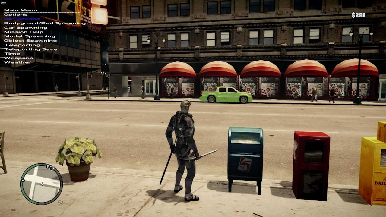 Grand Theft Auto IV Awesome Mods - YouTube