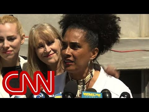 Watch Cosby accusers react to verdict