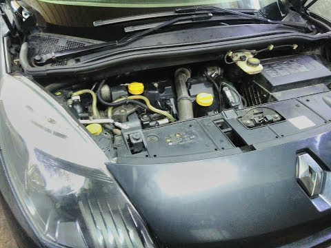 Замена ремня ГРМ Renault 1.5cdi 2010