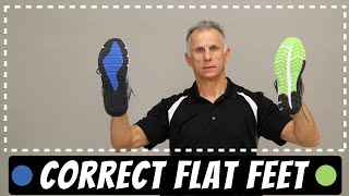 Flat Foot Correction, Learn Best Footwear, Purchase to Stop Pain