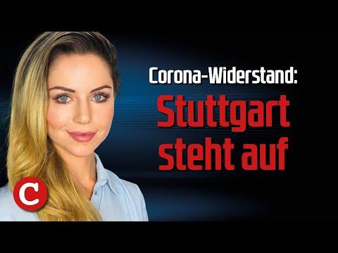 Corona-Widerstand:Stuttgart steht auf - Die Woche COMPACT