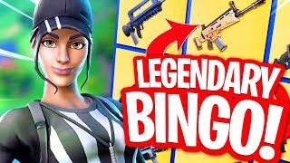 LEGENDARY BINGO MET JUR!! MINIGAMES in FORTNITE PLAYGROUND!
