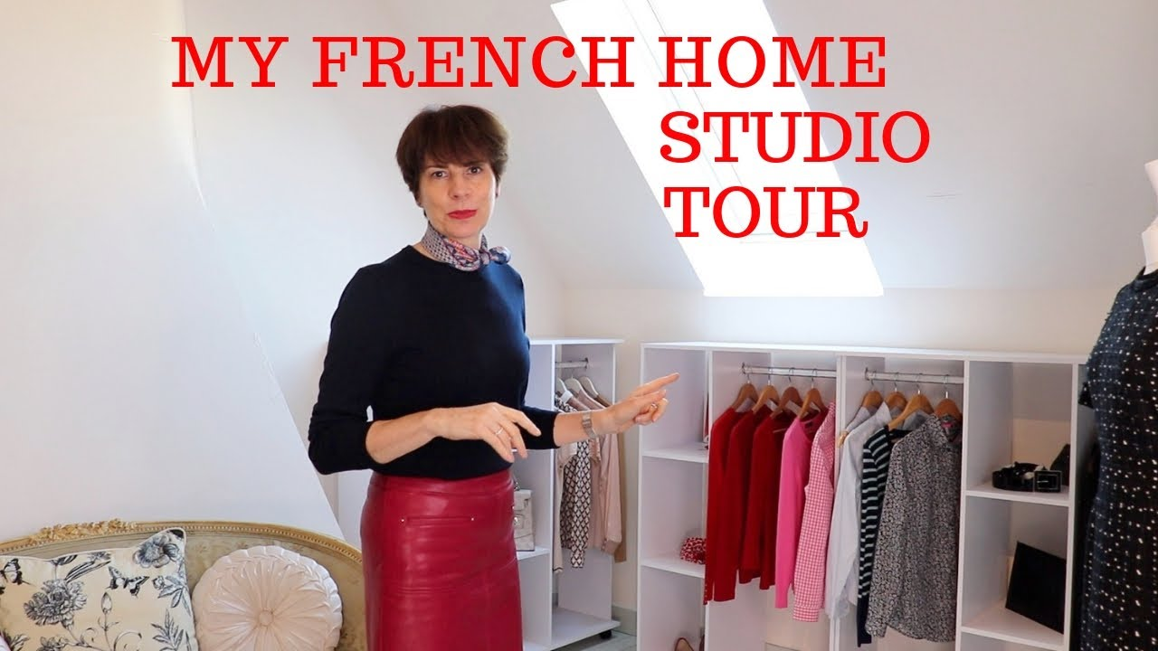 🇫🇷 MY FRENCH HOME STUDIO TOUR ⎢ CLOTHES & ACCESSORIES