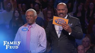This family has got more relatives than points... | Family Feud