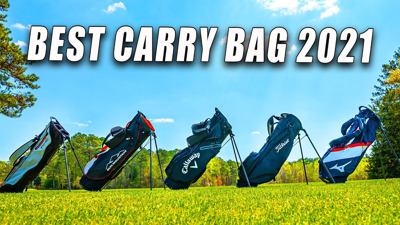I BOUGHT EVERY GOLF CARRY BAG and I'm Giving Them Away
