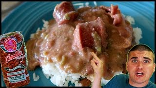 How To Make THE BEST Cajun Red Beans And Rice with Sausage