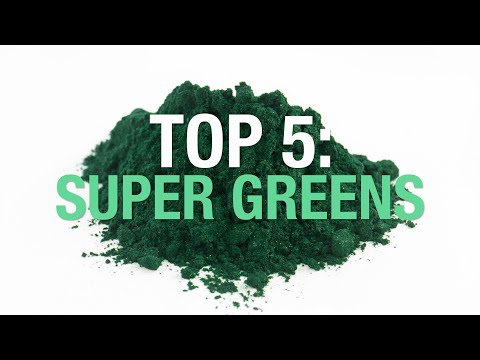 Top 5: Super Green Powders