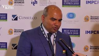 Best Invest Conference 2018. Meeting of the Working Group of Cyprus India Cooperation, interviews