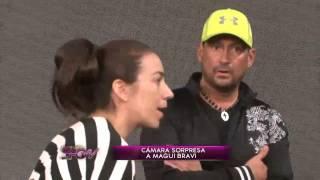Sábado show - La cámara sorpresa a Magdalena Bravi