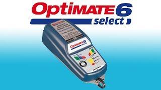 Optimate 6 select TM190: Обзор зарядного устройства