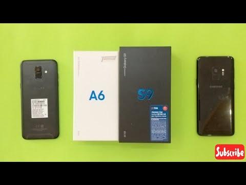 Samsung Galaxy S9 Vs Samsung Galaxy A6