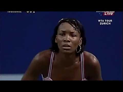 Venus Williams Vs Ana Ivanovic 2004 Zurich R2 Highlights