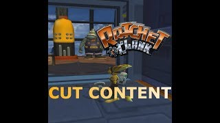 Ratchet And Clank - Cut Models (Early Plumber and more)