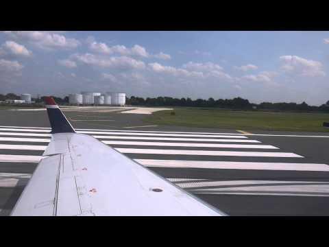 [HD] US Airways CRJ-200 Takeoff PHL-ORF
