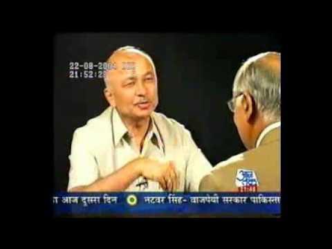 Seedhi Baat Sushil Kumar Shinde With Prabhu Chawla