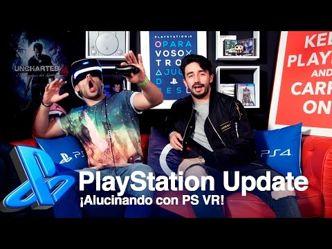 ¡Toni y byViruZz alucinan con PS VR! | PlayStation Update