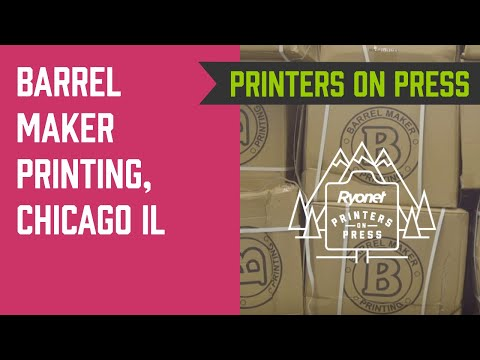 Printers On Press Ep. 8 - Barrel Maker Printing