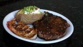 "Blackened Steak And Shrimp - ""cajun Style"""