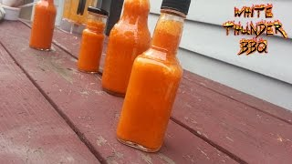 Hot Sauce Recipe - How to make the best homemade hot sauce