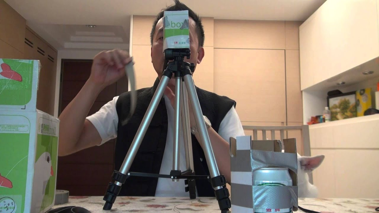 how to make a smartphone tripod