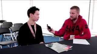 "Денис Тен, интервью журналу ""КИМ"" / Denis Ten interview for the KIM magazine"