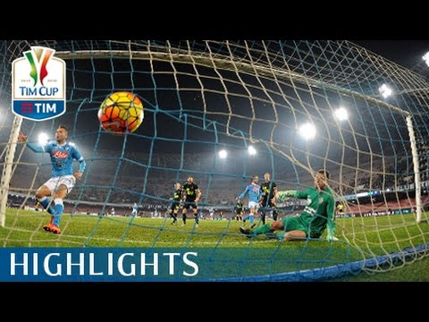 Napoli - Hellas Verona - 3-0 -  Highlights - Ottavi di finale - TIM Cup 2015/16