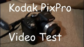 kodak Pixpro AZ252 Photo/Video Test