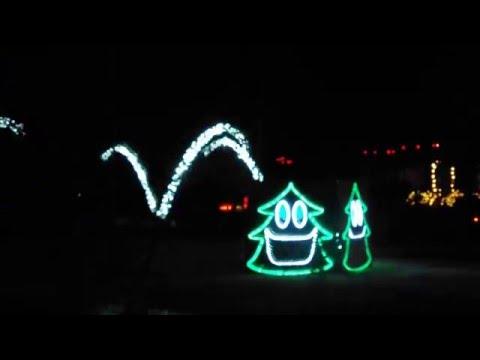 Christmas Lights What does the Fox Say Tulsa oklahoma