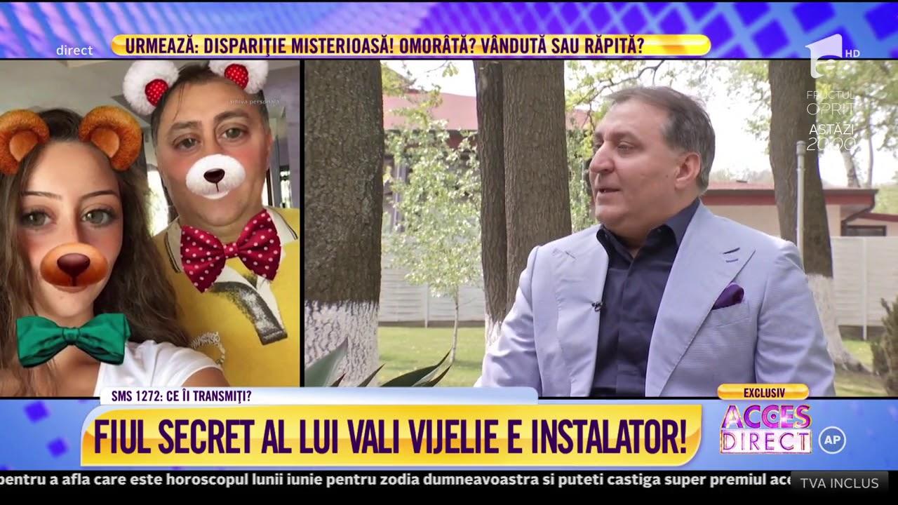 """Fiul secret al lui Vali Vijelie este instalator: """"Când s-a născut, mama mi-a zis"""