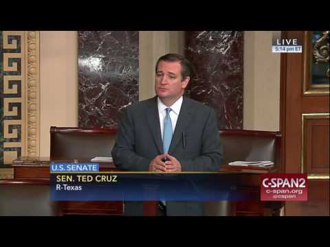 Sen. Cruz Gives Speech on Senate Floor Commemorating Yom Yerushalayim (Jerusalem Day)