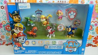 Walmart Exclusive Paw Patrol Action Pack Set Of Six Characters Toy Review