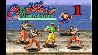 90lı yılların atari oyunları | Cadillacs and dinosaurs Namı değer Mustapha