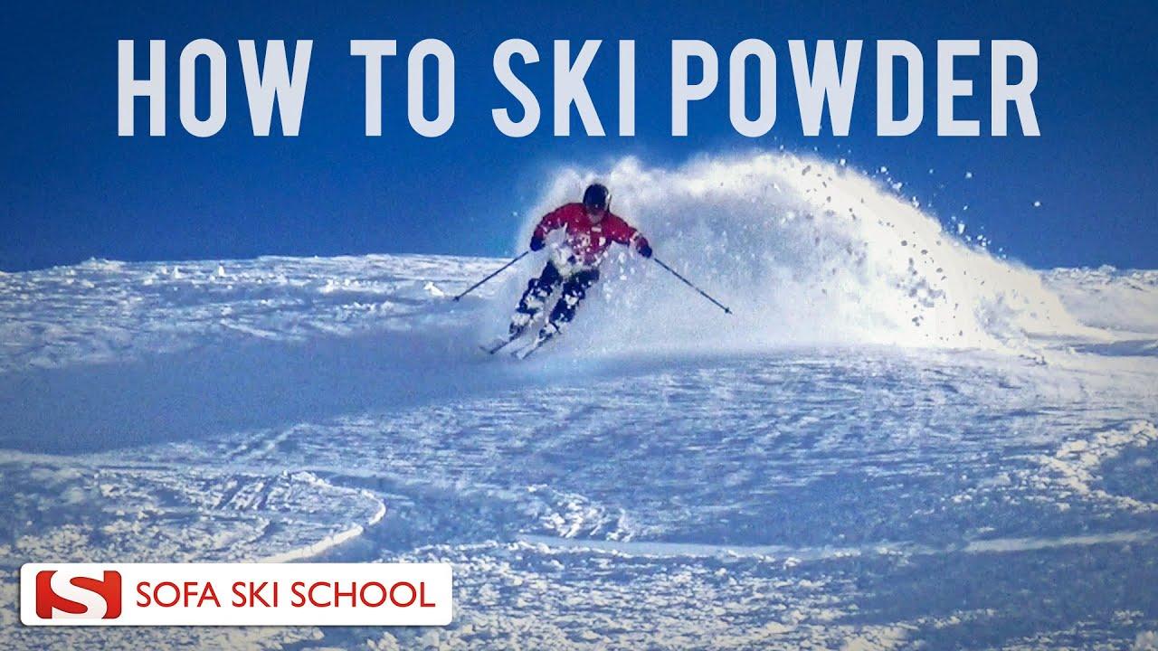 Powder   Ski Lesson 2016   YouTube