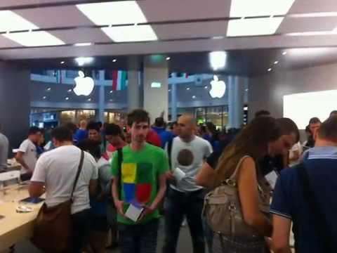 Inaugurazione Apple store Firenze (Music Video)