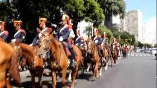 MARCHA MONTADA - TROTE ESCUELA DE CABALLERÍA