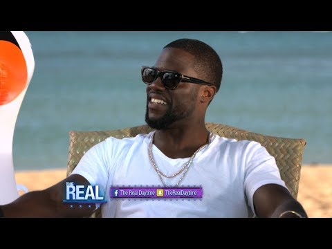 Tuesday on 'The Real': We're Beachside with Kevin Hart!