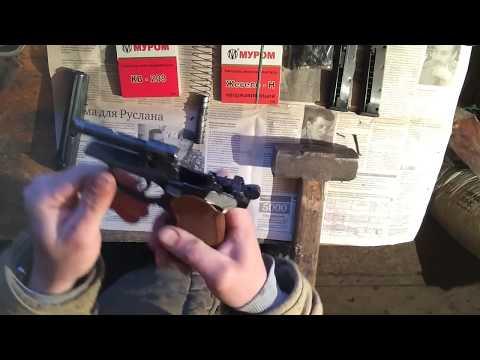 Как выбить болванку ствол заводской и патронник на Мр 371