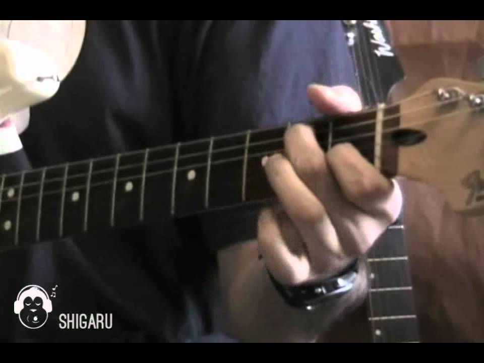 How To Play White Wedding By Billy Idol Intro Part Only