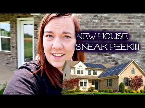 NEW HOUSE SNEAK PEEK!!/ LOOKING IN WINDOWS?!