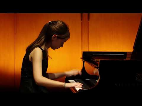 12/13/2019 Anastassiya Barabanova: concert of students of the Mira Marchenko' class (I-st part)