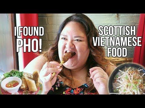 GLASGOW FOOD TOUR - How Good Is Vietnamese Food In Scotland?? | Hanoi Bike Shop