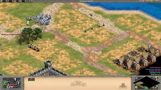Age of Empires 2 HD Edition - Joan of Arc - The Siege of Paris Walkthrough Gameplay